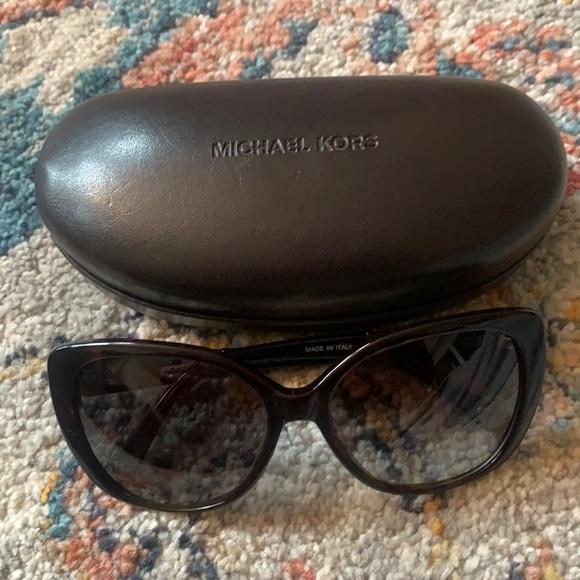 Michael Kors Ladies Sunglasses & Case